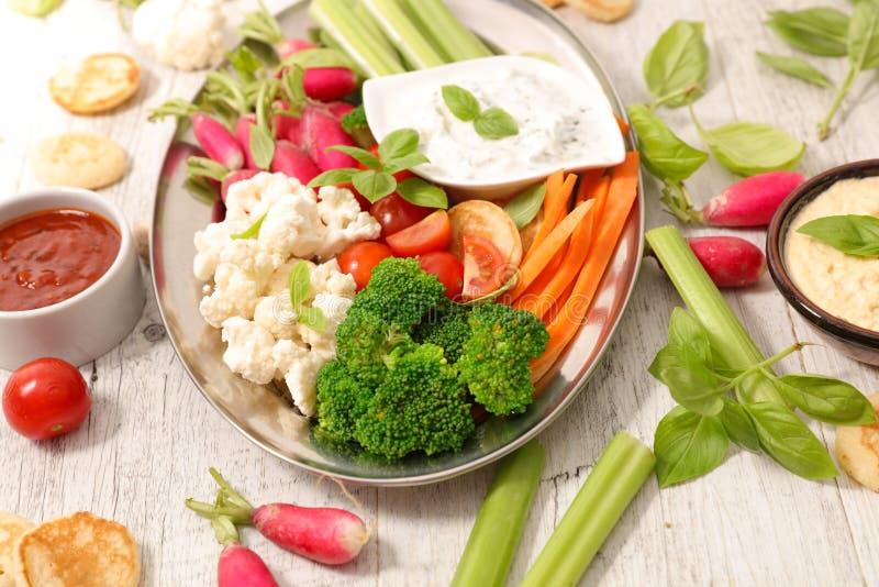 Buffet de nourriture de régime photos stock