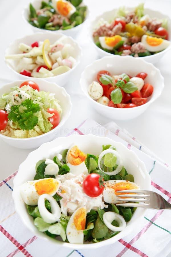Buffet de salade image libre de droits