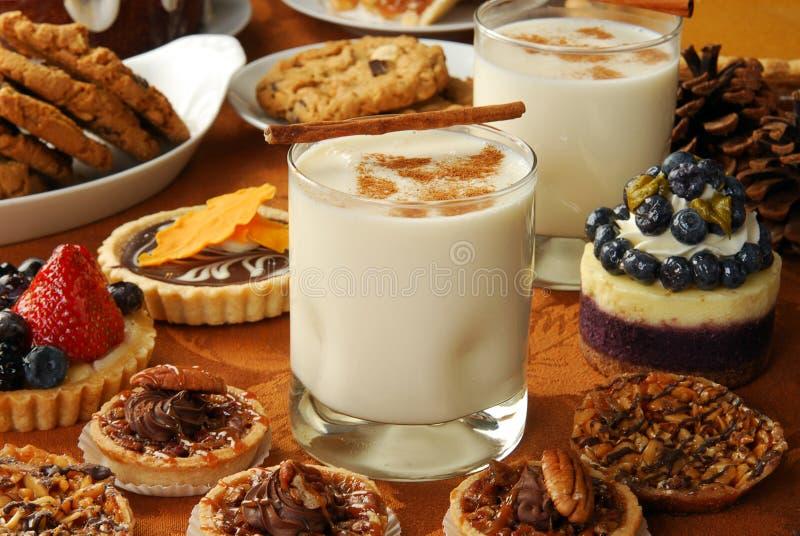 Buffet del dessert di festa fotografia stock