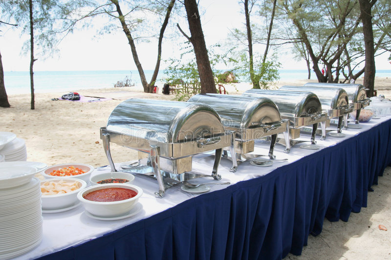 Download Buffet lunch in the island stock photo. Image of photograph - 7052494