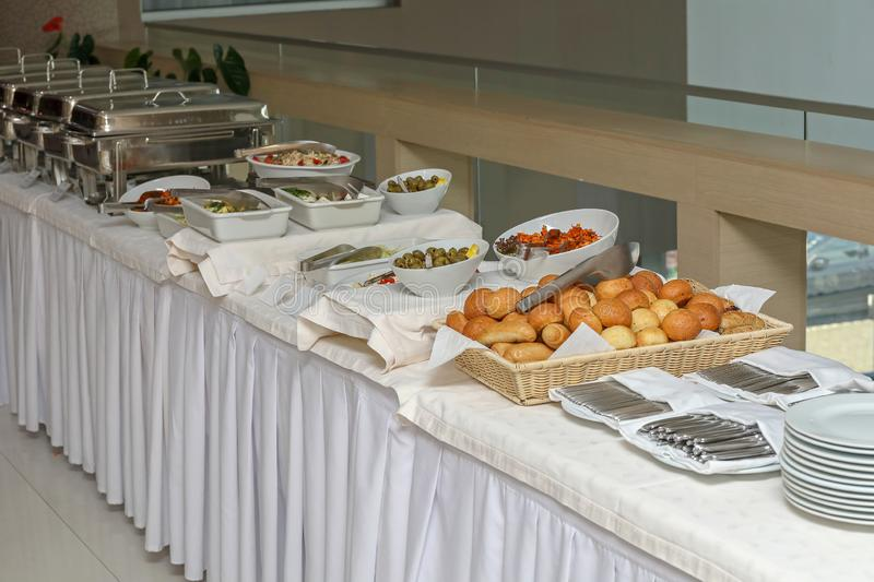 Buffet Table royalty free stock image