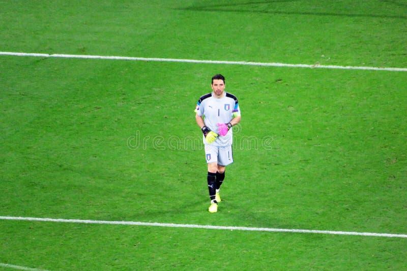 Buffon Italie image libre de droits
