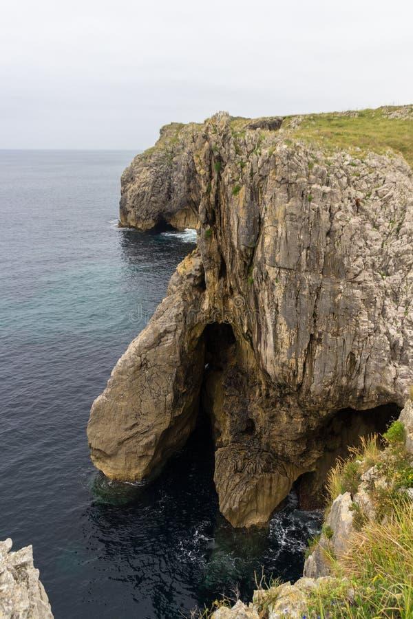 Bufones de Arenillas near LLanes. In Asturias Spain stock images