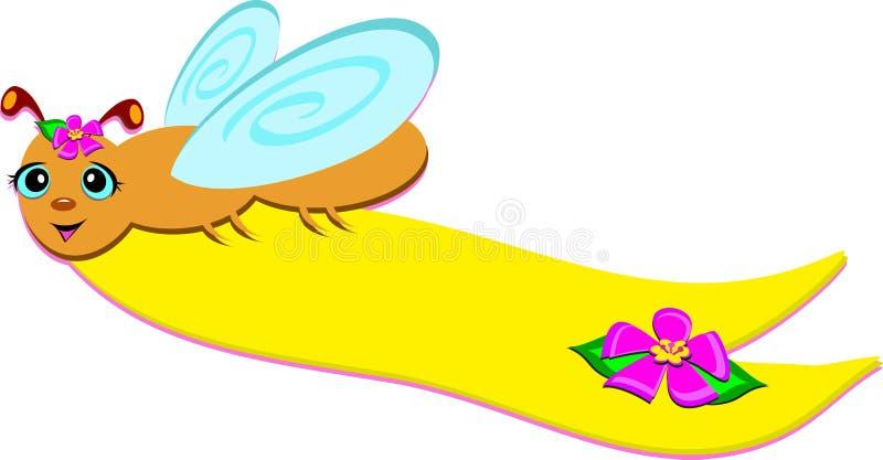 Download Bug Banner stock vector. Image of wildlife, flower, animal - 23227611