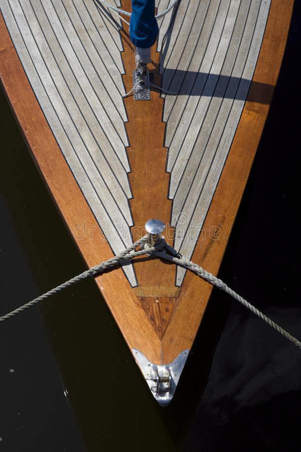 The bug of the boat at Havel, Berlin royalty free stock images