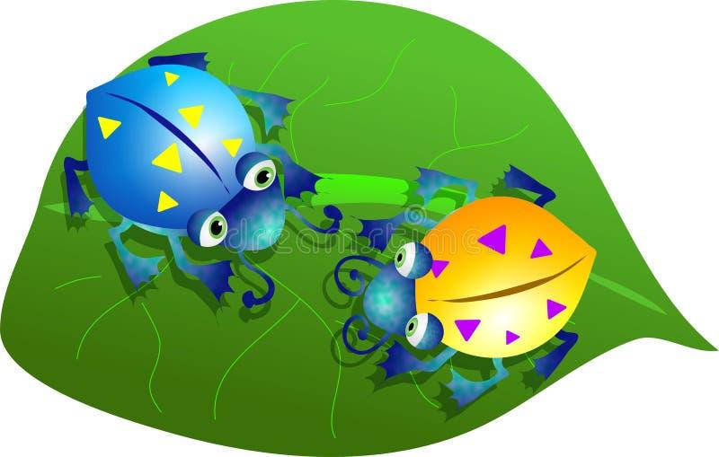 Download Bug liści, ilustracji. Obraz złożonej z zwierzęta, natura - 41423
