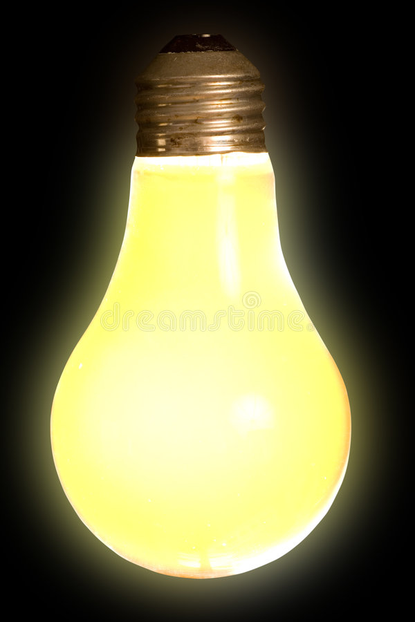Bug Light on Black royalty free stock photography