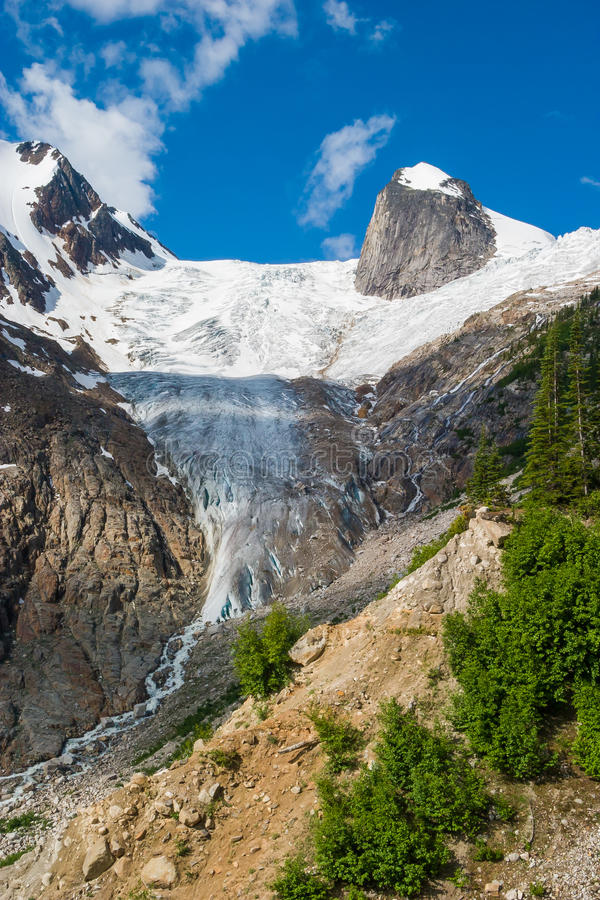 The Bugaboos, Britsh Columbia, Canada stock photography
