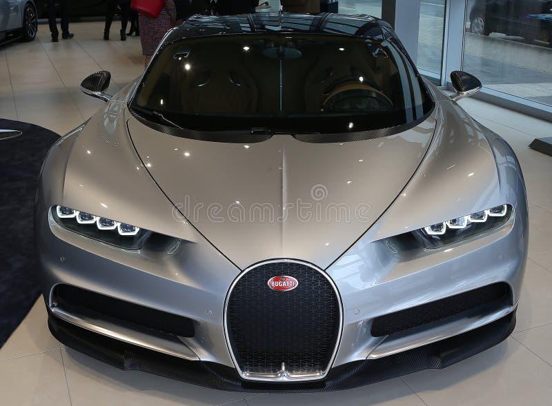Bugatti希龙 图库摄影