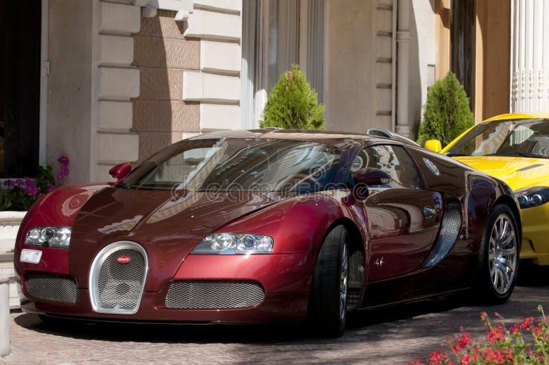 bugatti 4 16 veyron στοκ φωτογραφία