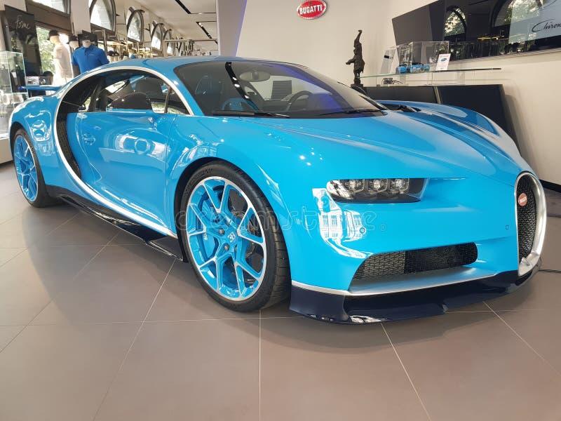 Bugatti Chiron στοκ φωτογραφία με δικαίωμα ελεύθερης χρήσης