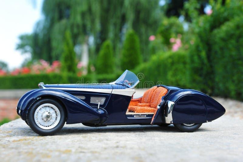 Bugatti 57 offener Tourenwagen Sc Korsika - offene Tür stockfotografie
