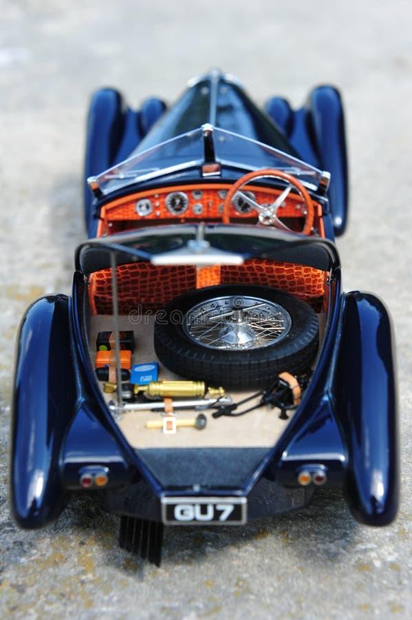 Bugatti 57 offener Tourenwagen Sc Korsika - offener Stamm stockbilder