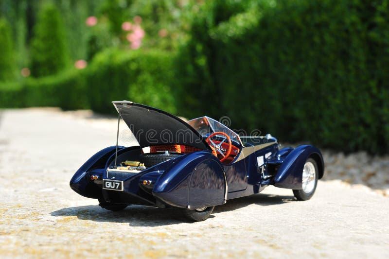 Bugatti 57 offener Tourenwagen Sc Korsika - offener Stamm stockfoto