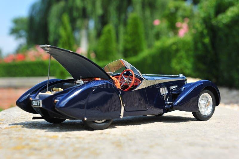 Bugatti 57 offener Tourenwagen Sc Korsika - offener Stamm lizenzfreie stockfotografie