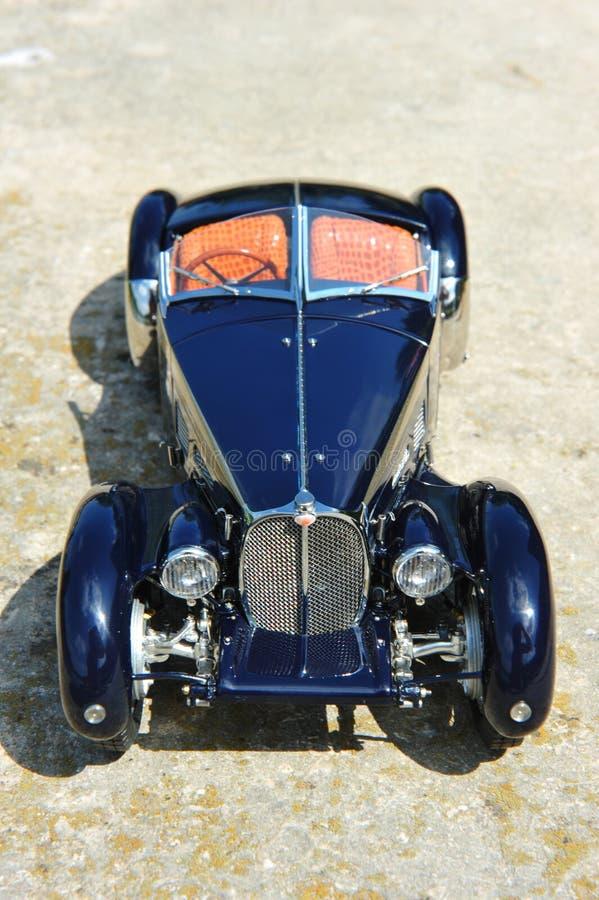 Bugatti 57 offener Tourenwagen Sc Korsika - Vorderansicht lizenzfreie stockbilder