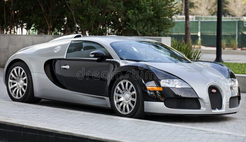Bugatti: Storslagen sport royaltyfri foto