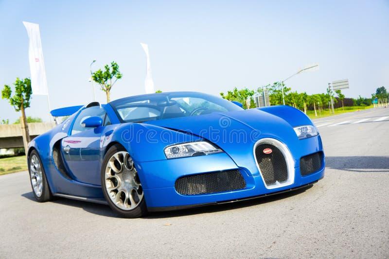 Bugatti storslagen sport 16,4 royaltyfria foton