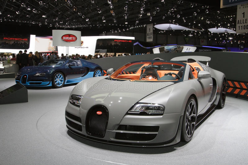Download Bugatti Veyron 16.4 Grand Sport Vitesse Editorial Photo - Image of bugatti, motor: 23888396