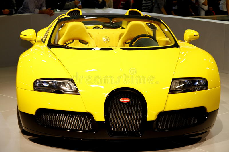 Bugatti Veyron 16.4 storslagna sport royaltyfria bilder