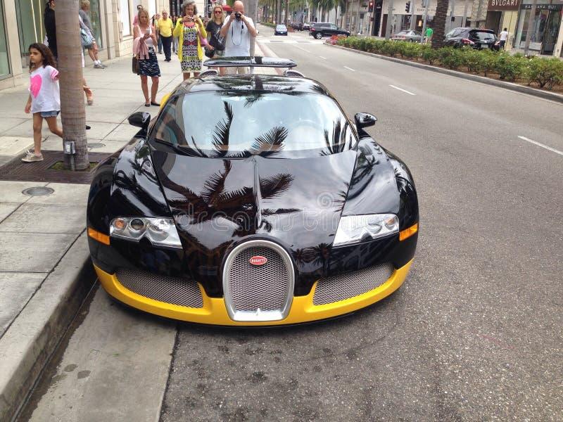 Bugatti Veyron royalty-vrije stock afbeelding