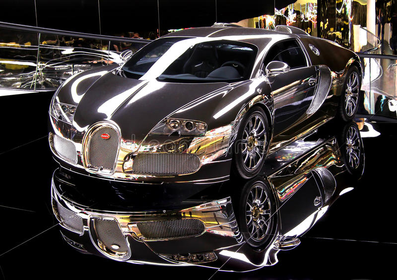 Bugatti Veyron stock afbeelding