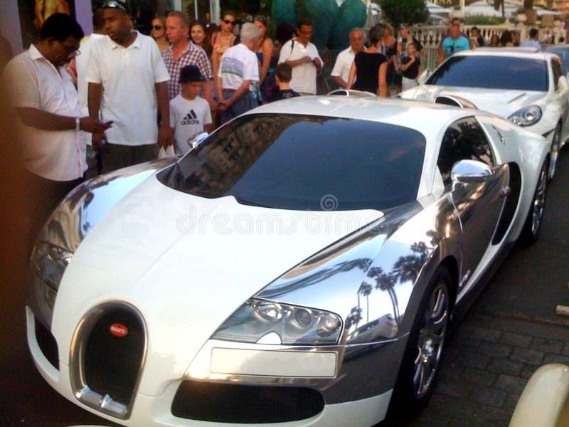 Bugatti Veyron royaltyfri fotografi