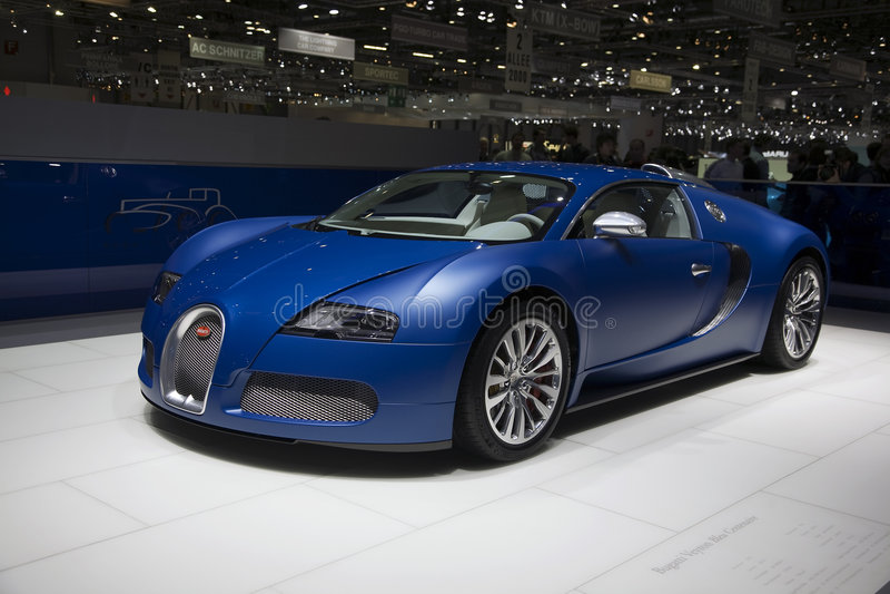 Bugatti Veyron Centenaire royalty free stock photo