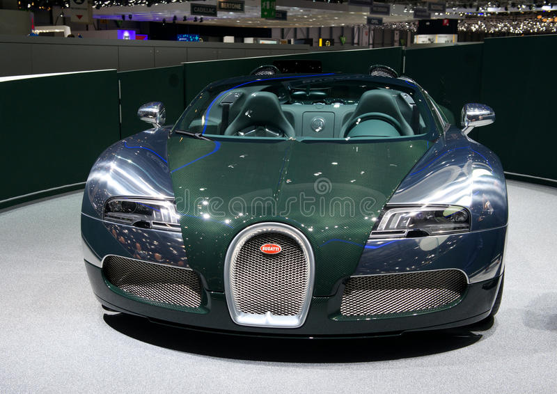Bugatti Veyron Grand Sport Vitesse 2014 Editorial Photo