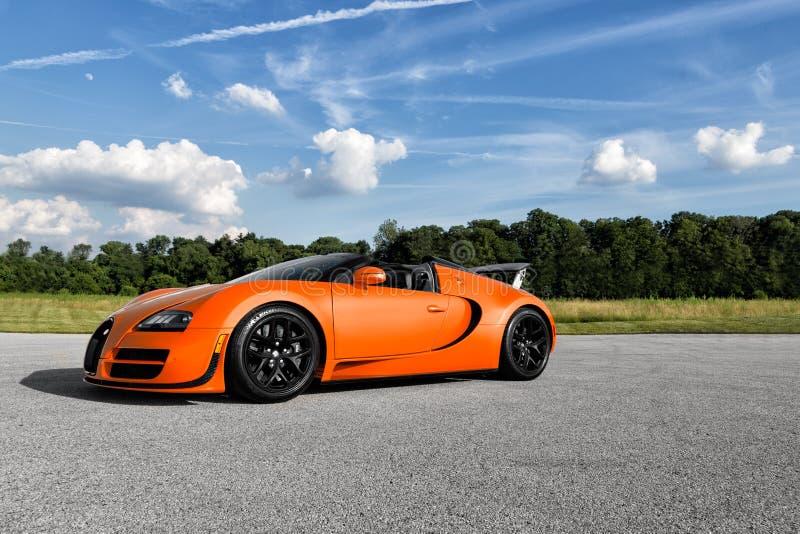 Bugatti Veyron Vitesse imagem de stock