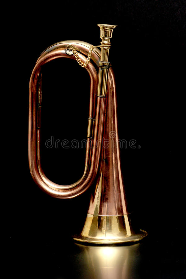 Bugel op Zwarte royalty-vrije stock foto