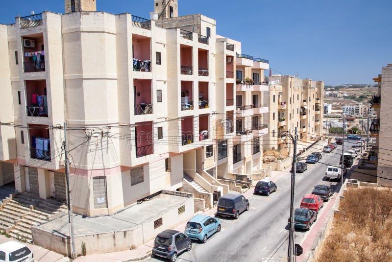 Buggiba, Malta stock image