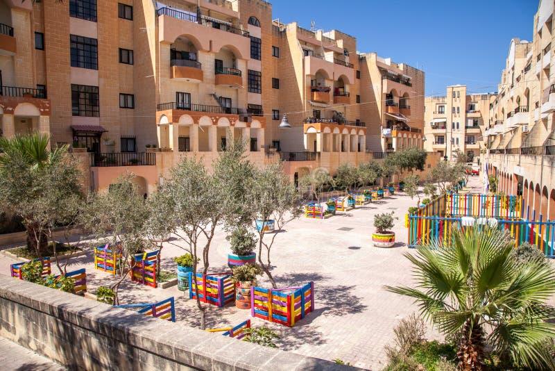 Buggiba, Malta royalty free stock photography