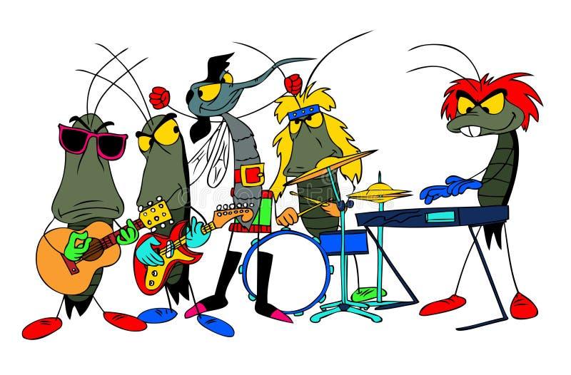 buggies royaltyfri illustrationer