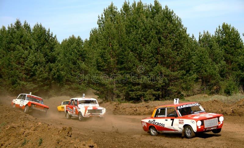 buggy country cross race royaltyfri foto