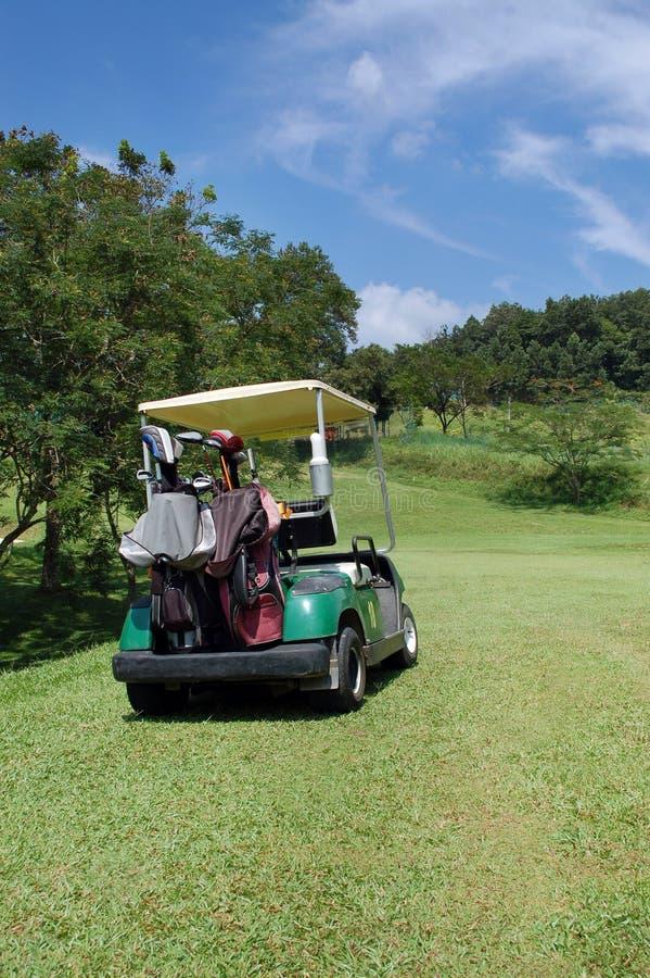 Buggy di golf fotografie stock