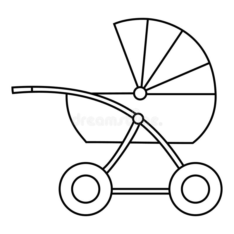 Buggy. Isolated object. Vector Image. vector illustration