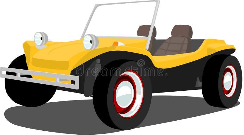 buggydyntappning royaltyfri illustrationer