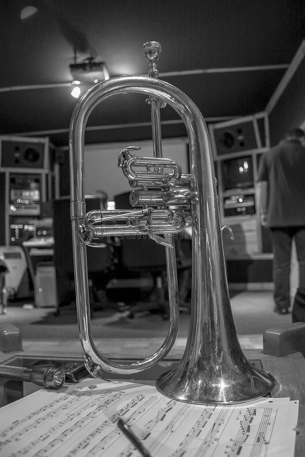 Bugle photographie stock