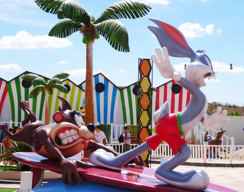 Bugs Bunny, парк Warner стоковая фотография