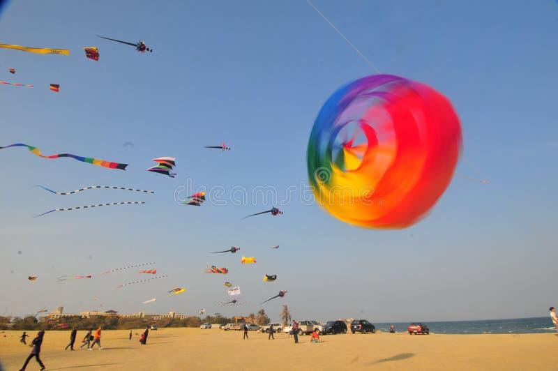 Buhamad Kites Team stock images