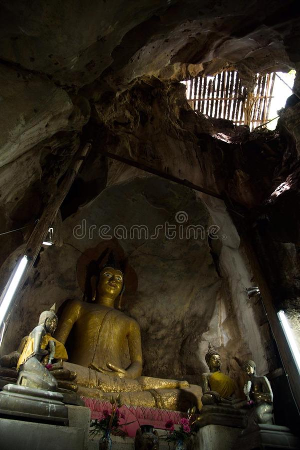 Buhism in Tailandia immagine stock libera da diritti