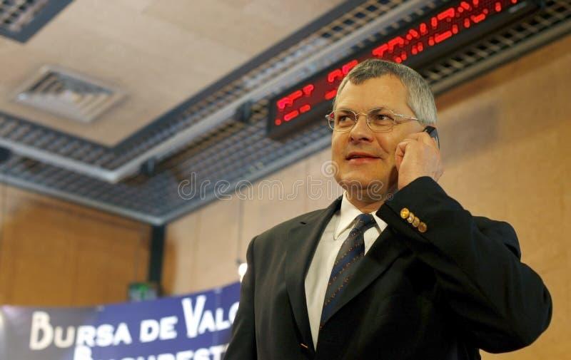 Buhl de Michael - CEO da troca conservada em estoque de Viena imagem de stock royalty free