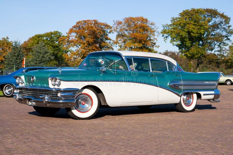 buick του 1958 έξοχο στοκ εικόνες με δικαίωμα ελεύθερης χρήσης
