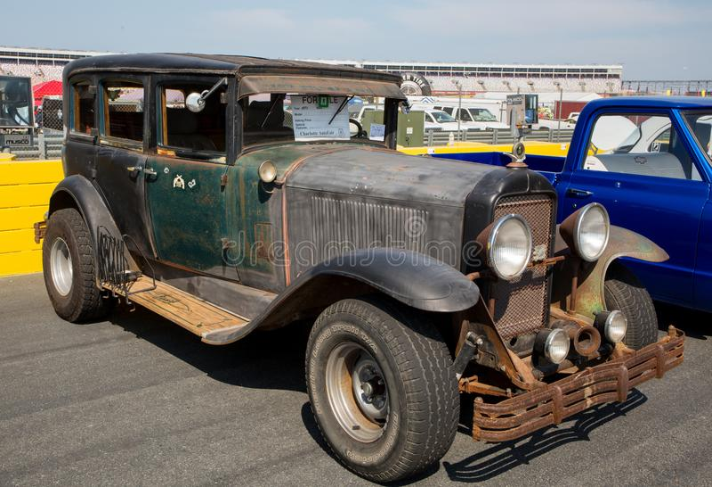 Buick 1929 lizenzfreie stockfotografie