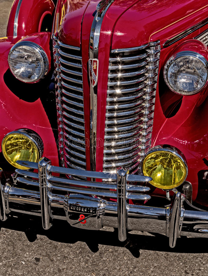 Buick 1938 photographie stock libre de droits
