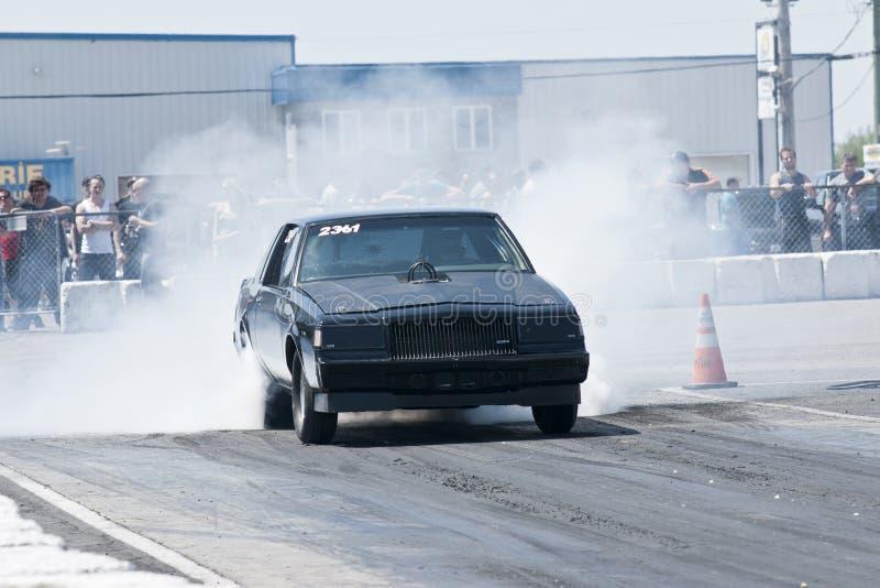 Buick Burnout stockfotos