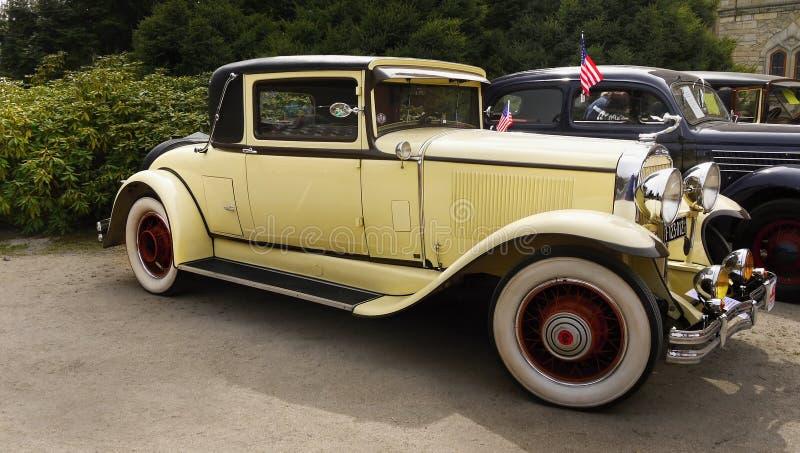 Buick-Coupé 1929, Weinleseautos, Luxusautos lizenzfreies stockbild