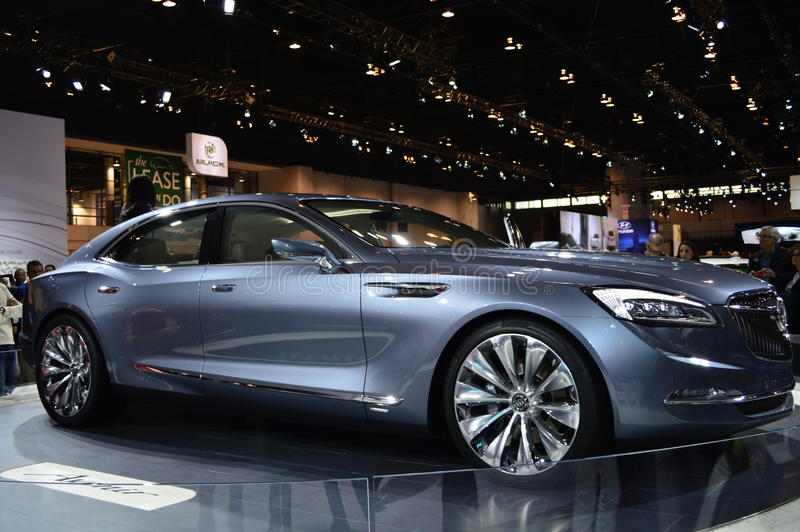 Buick in Detroit Auto toont royalty-vrije stock afbeelding