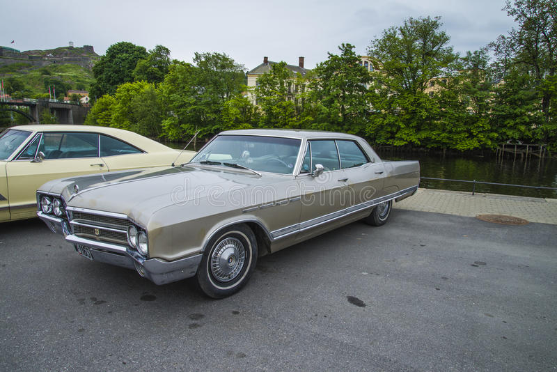 1965 Buick Electra, Classic Amcar Editorial Stock Photo